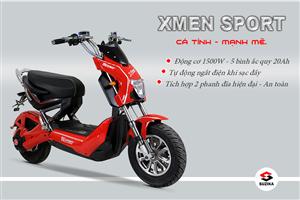 Xe điện Xmen Z81 Suzika, phong cách thể thao mới