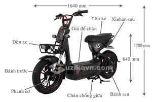 Sức hút khó cưỡng của xe máy điện Giant M133S Plus+