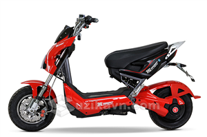Xe điện Xmen Sport trang bị 2 phanh đĩa thu hút người dùng