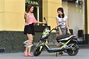 Thiết kế ấn tượng của xe máy điện Xmen GT Aima Plus