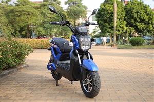 Xe máy điện Zoomer Suzika Aima 2017 phiên bản nâng cấp có gì mới?