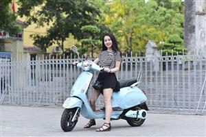 Xe máy điện Vespas – Dáng đẹp, giá tầm trung