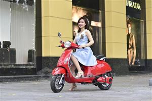 Xe máy điện Vespas cải tiến vượt trội về động cơ và thiết kế
