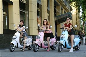 Xe điện Proud cao cấp thiết kế hiện đại cho giới trẻ