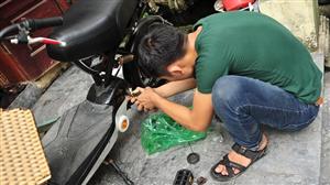Cách tự lắp xe đạp điện