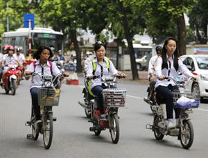 Đảm bảo an toàn khi sử dụng xe đạp điện