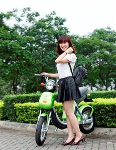 Xe đạp điện Nijia thời trang thu hút giới trẻ sành điệu