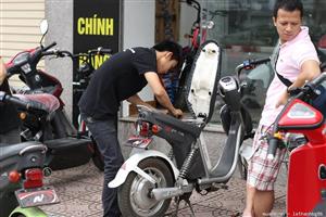Cách nào để tăng tuổi thọ cho xe đạp điện
