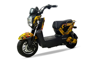 Phong cách ấn tượng của xe máy điện Zoomer 3D