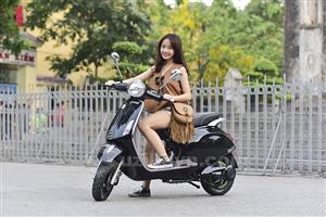 Xe máy điện Vespas – Phong cách đáng mơ của phái nữ