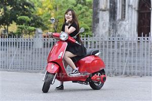Xe máy điện Vespa - Thiết kế giành riêng cho phái đẹp