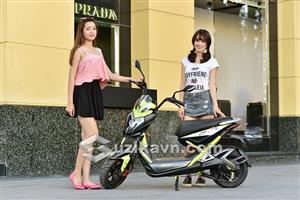 Xe máy điện Xmen GT Aima Plus nâng cấp thiết kế lẫn tính năng