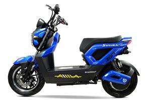 Cải tiến mới của dòng xe máy điện Zoomer Suzika Aima