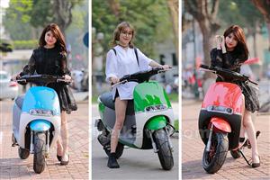 """4 mẫu xe máy điện """"cực chất"""" với động cơ trên 1500w"""