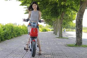Mốt với dòng xe đạp điện Nija 20A có khả năng chịu tải trọng cao