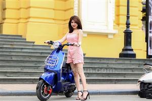 Xe điện MiLan Aima – Trẻ hóa phong cách