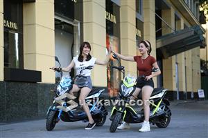 Xe điện Xmen GT Aima Plus hấp dẫn giới trẻ