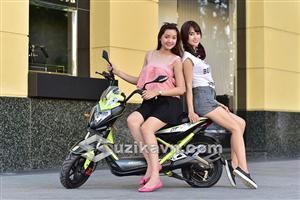 Kiểu dáng thể thao mạnh mẽ của xe điện Xmen GT Aima Plus