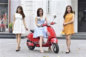 Xe máy điện Vespa – Mẫu xe điện mới với những cải tiến vượt trội