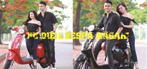 Xe điện Vespa Nagaki - Thế hệ mới của dòng xe Vespa