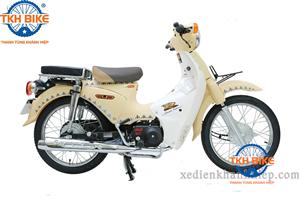 Xe Cub 81 Thailand màu vàng kem