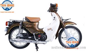 Xe Cub 81 Thailand màu nâu