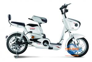 Xe đạp điện Honda M6 trắng