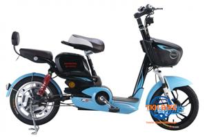 Xe đạp điện Honda M6 xanh đen