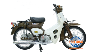 Xe Cub 79 ThaiLand màu nâu