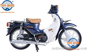 Xe Cub 81 Thailand màu xanh cửu long