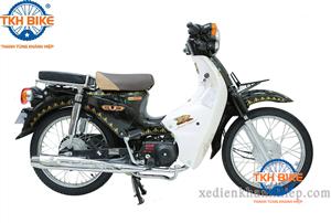 Xe Cub 81 Thailand màu xanh rêu