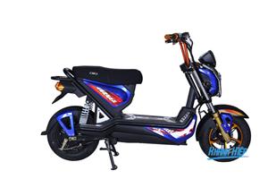 Xe điện Zoomer Iris xanh