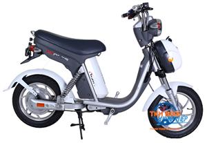 Xe đạp điện Nijia S 2016 trắng