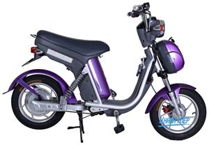 Xe đạp điện Nijia S 2016 tím
