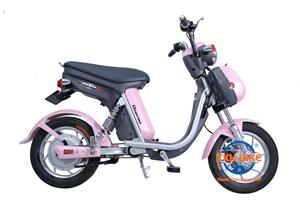 Xe đạp điện Nijia Dibao hồng