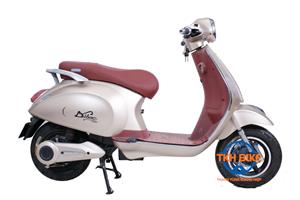 Xe máy điện Vespa  Dibao ghi hồng