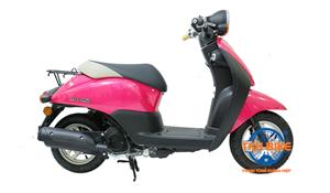 XE MÁY HONDA TODAY 50cc màu hồng cánh sen