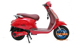 Xe máy điện Vespa Dibao đỏ
