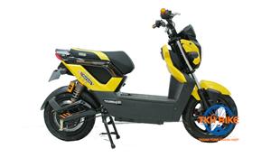 Xe máy điện Zoomer Dibao S vàng