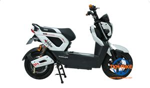 Xe máy điện Zoomer Dibao S trắng