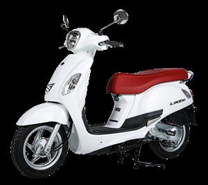 XE GA KYMCO LIKE 50cc màu trắng