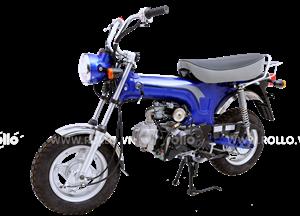 Xe cub LIFAN BOSSCITY CHALY xanh dương