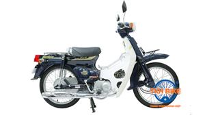 Xe Cub 82 ThaiLand màu xanh cửu long