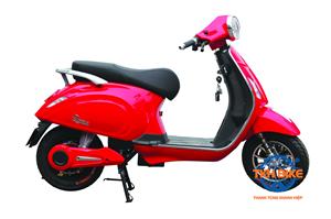 Xe máy điện DK ROMA 60V màu đỏ