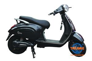 Xe máy điện DK ROMA 60V màu đen bóng