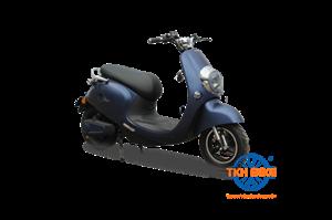 Xe điện DIBAO E-BIKE màu xanh
