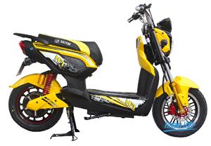 Xe đạp điện Zoomer Before  vàng