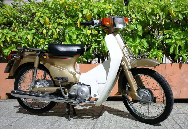 Xe cub 82 Thailand xanh rêu