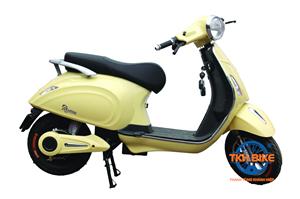 Xe máy điện DK ROMA LX 60V màu vàng