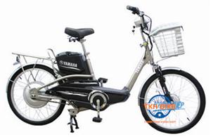 Xe đạp điện Yamaha Icats N2 nâu